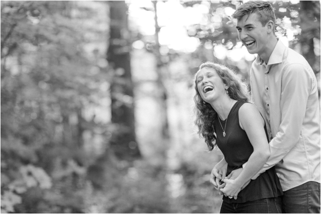New Hampshire engagement session by Deborah Zoe Photography.