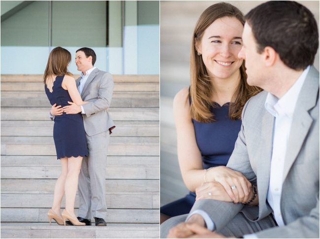 A Downtown Boston Engagement Session by Deborah Zoe Photography.