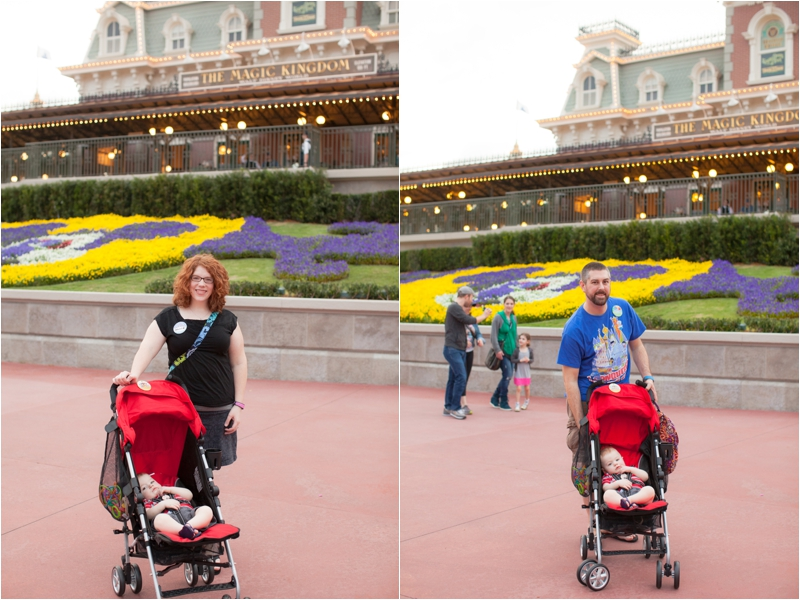 Baby's first trip to the Magic Kingdom