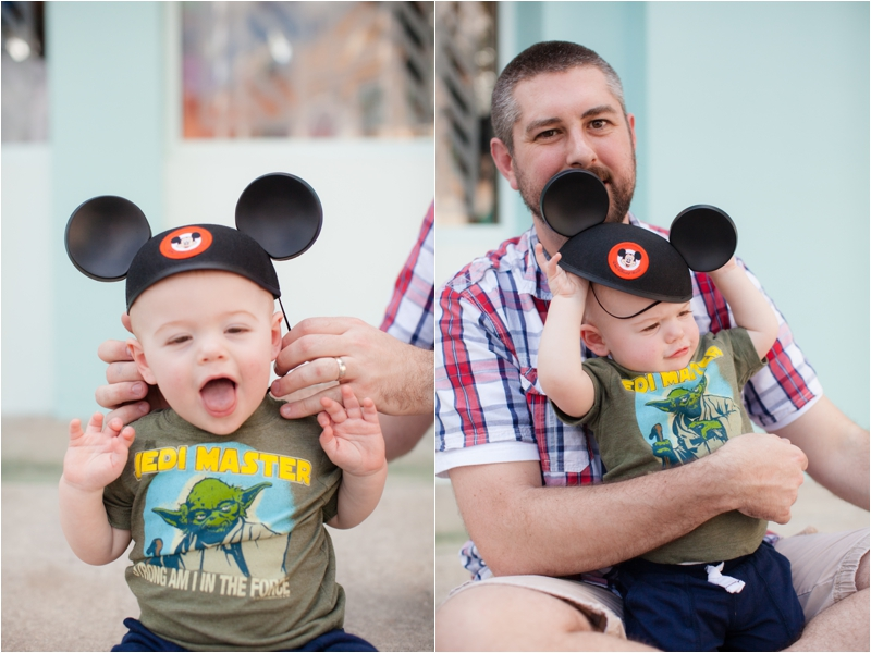 Baby's first Mickey Ears