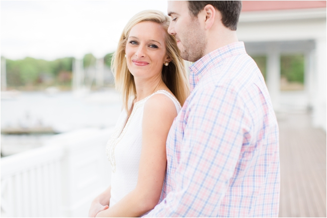 A Tuck's Point Engagement Session by Deborah Zoe Photography.