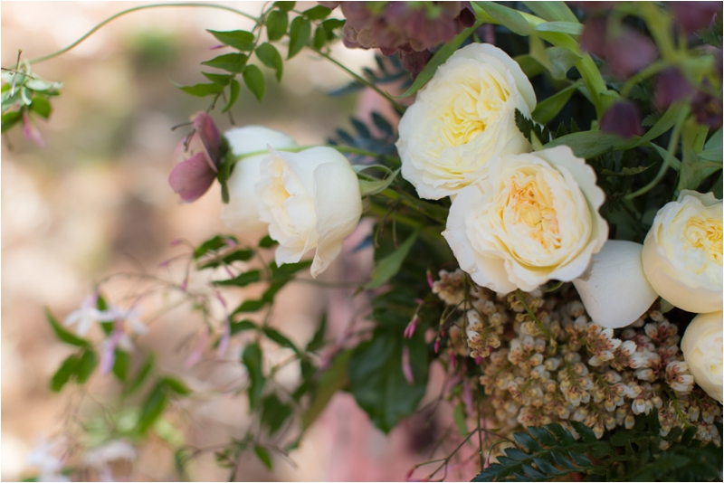 Garden inspired bouquet from Whim Events.