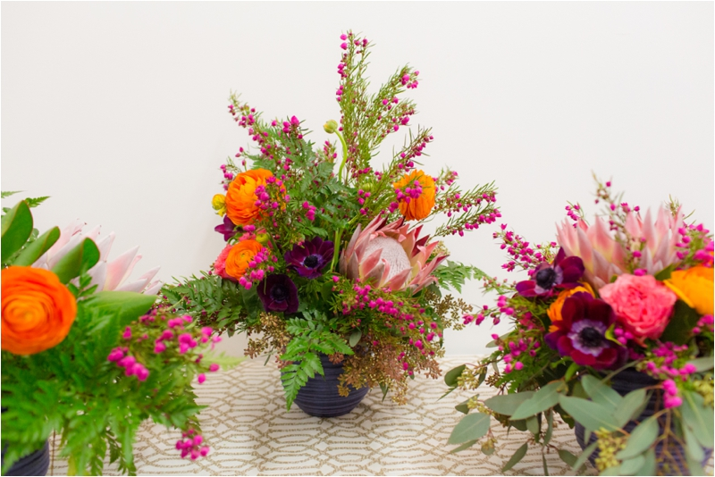 Whim Events hosts a floral workshop in their studio.