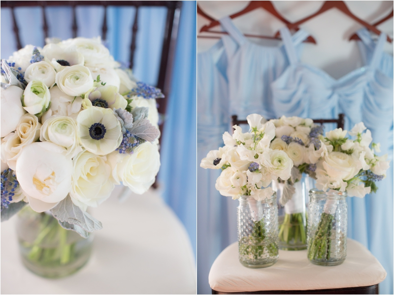 Florals from Whim Events at Willowdale Estate