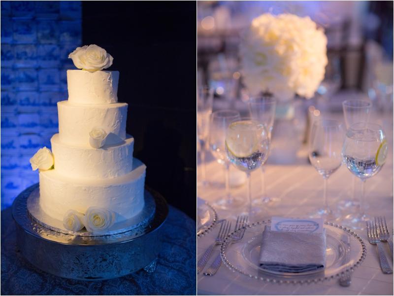 Winter wedding details at Willowdale Estate