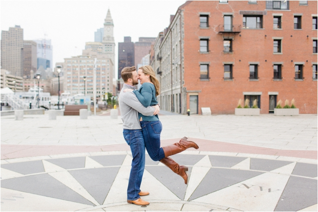 A Boston Waterfront Engagement Session