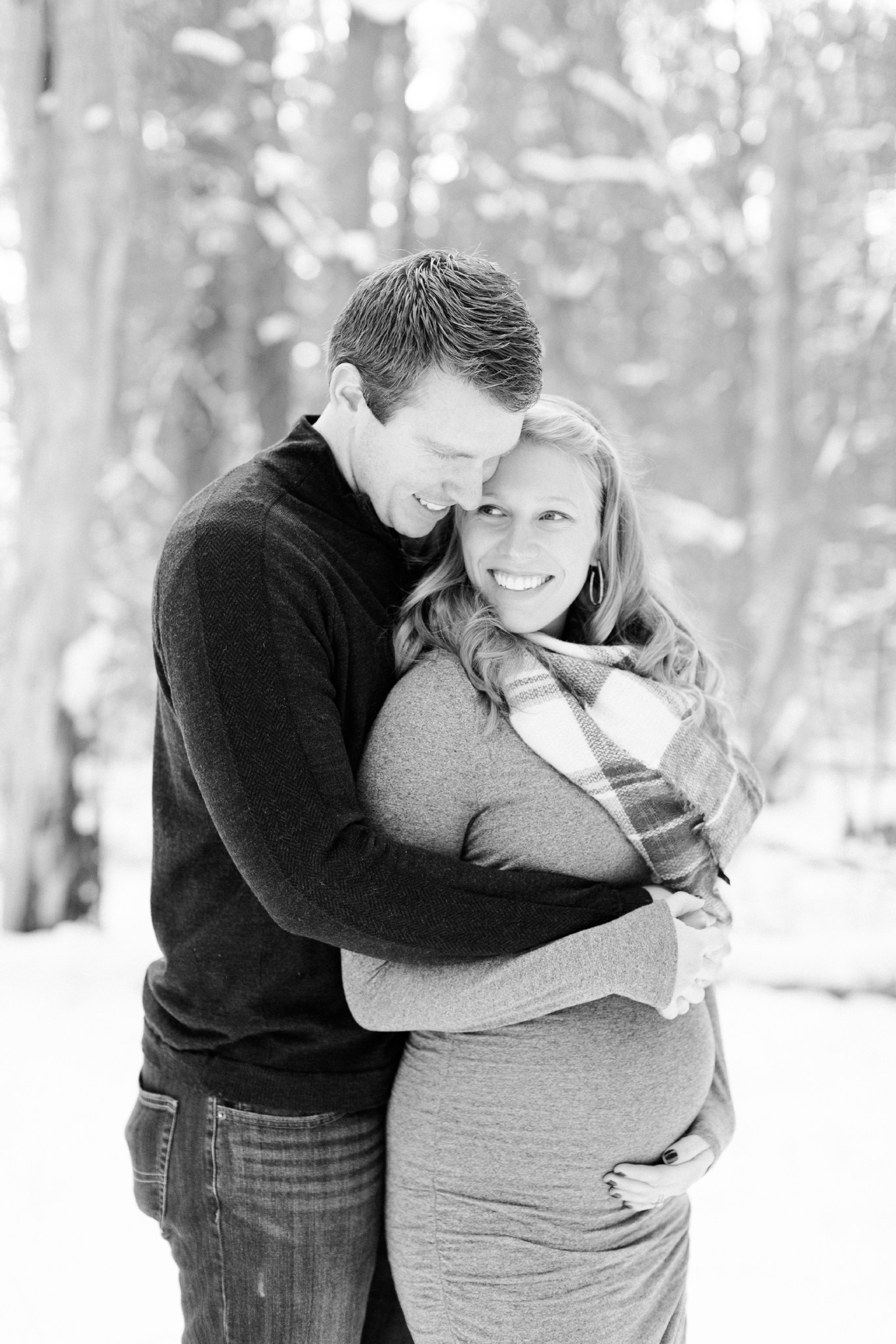North Shore, Massachusetts maternity session photographed by Deborah Zoe Photography.