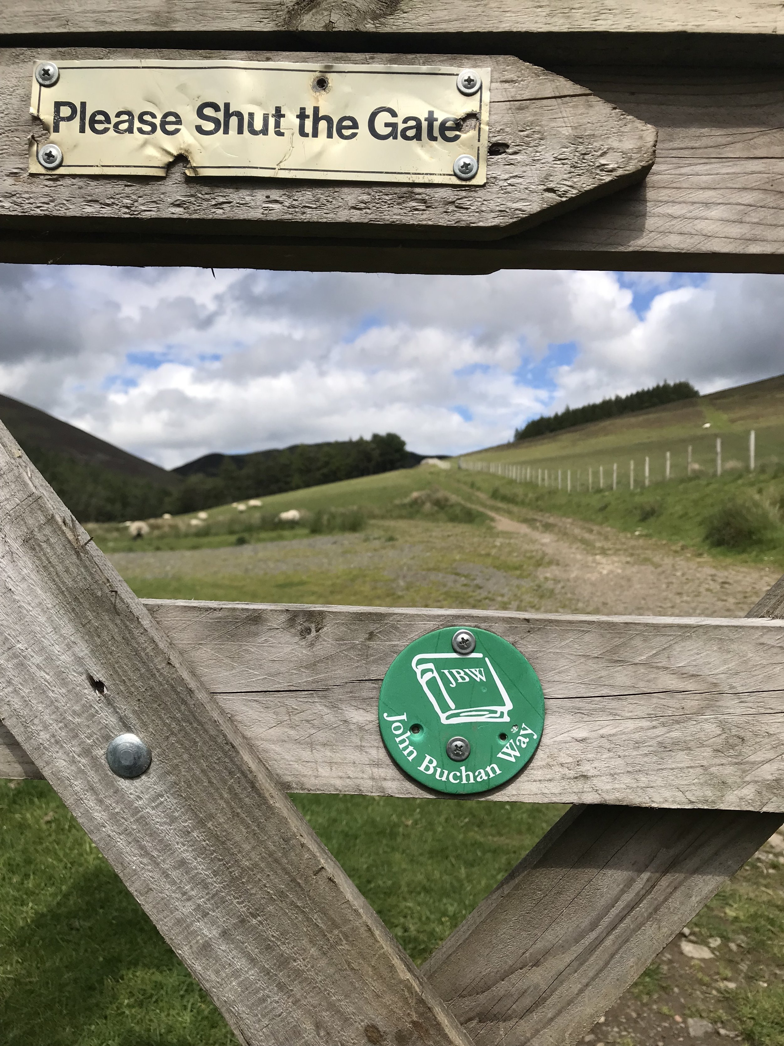 The John Buchan Way   Walking Opportunities Galore…