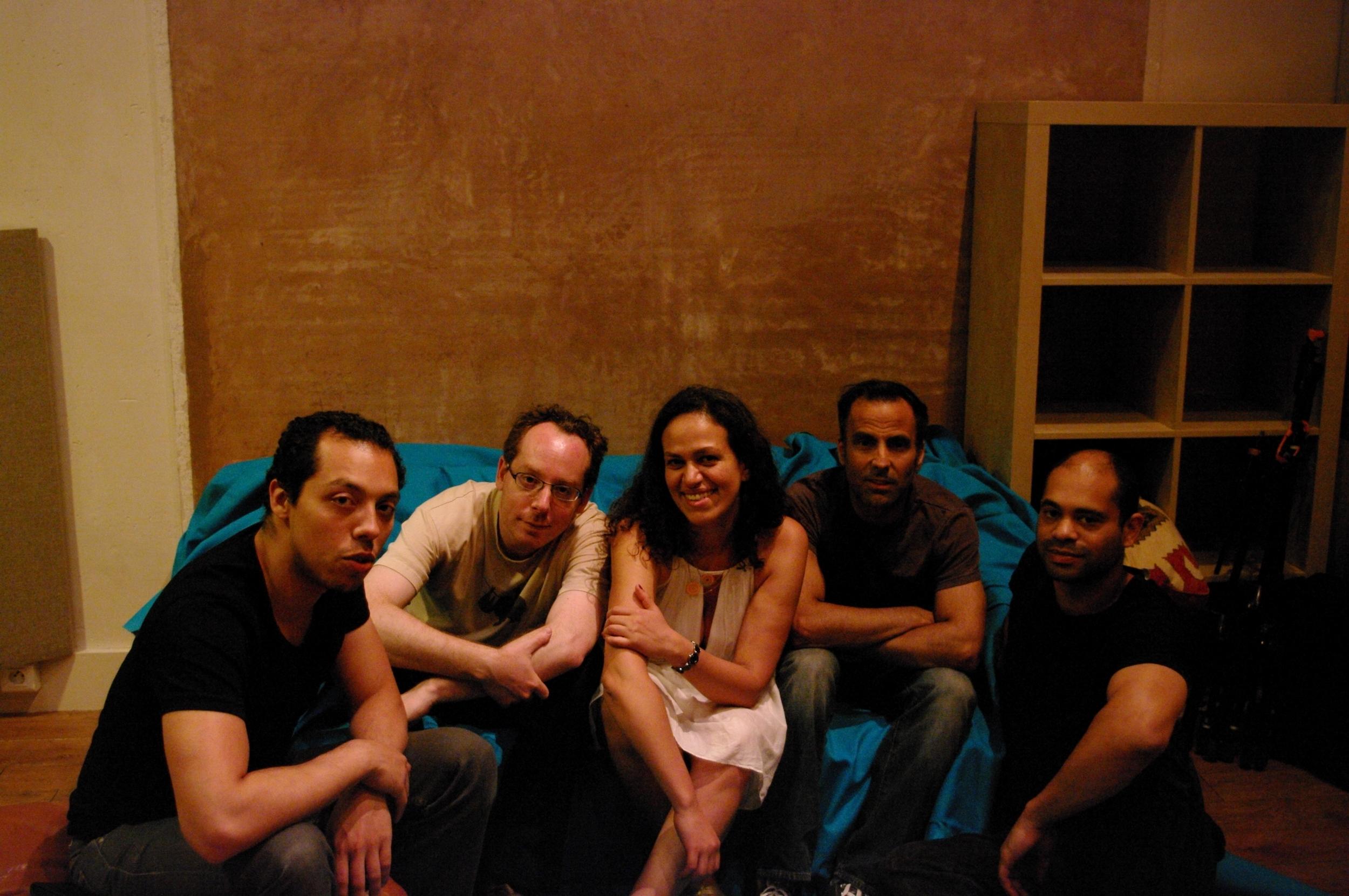 UTOPIA recording, Studio Sextan, Malakoff