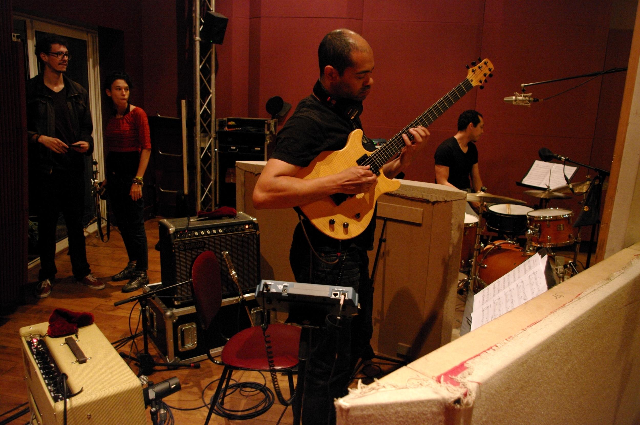 Manu Codjia - Utopia recording