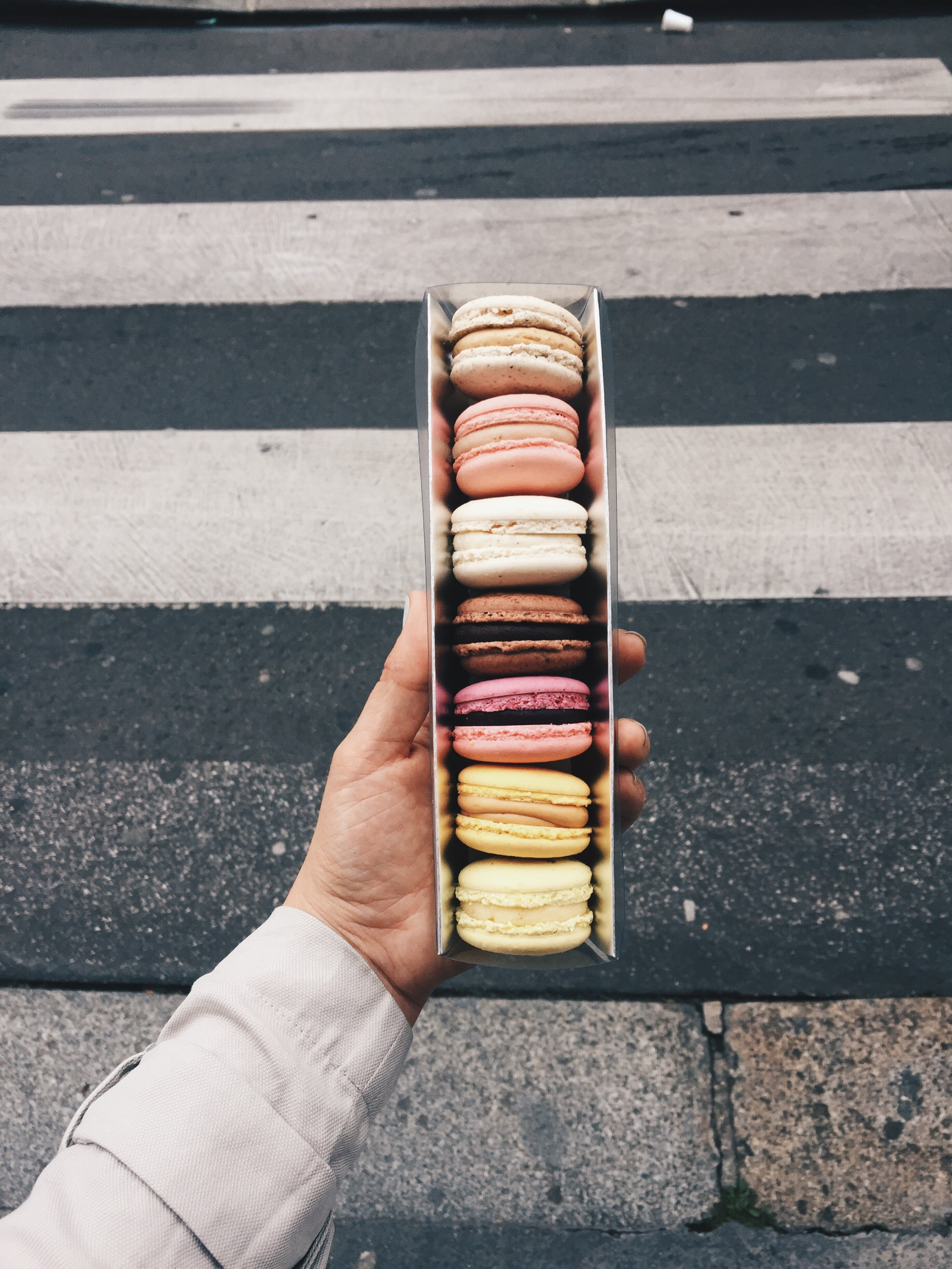 These are my favorite macarons from Mori Yoshida (super cool clean asian lines housing INSANE french pastries) 143 4 lyfe