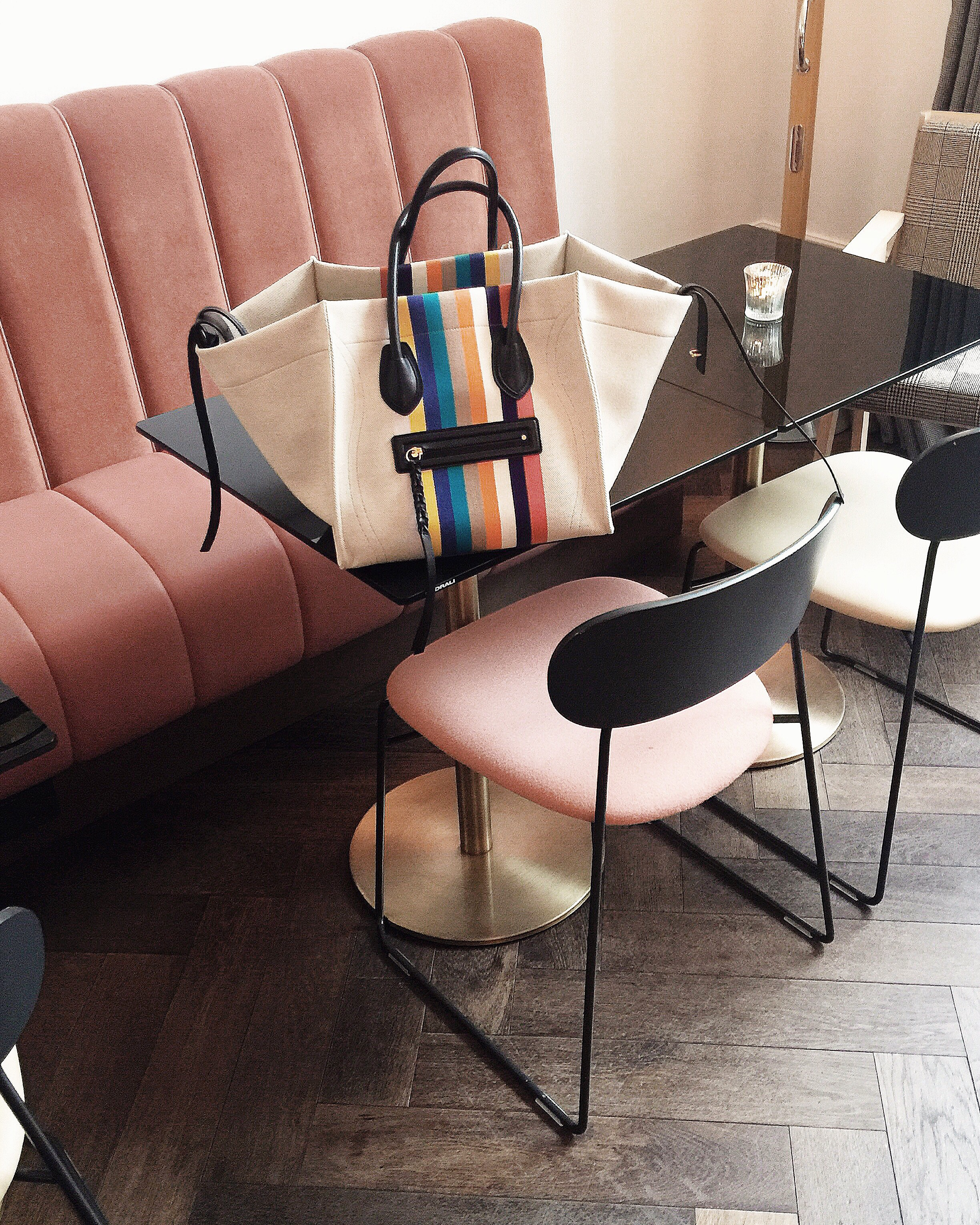 the laslett in notting hill and my fave celine
