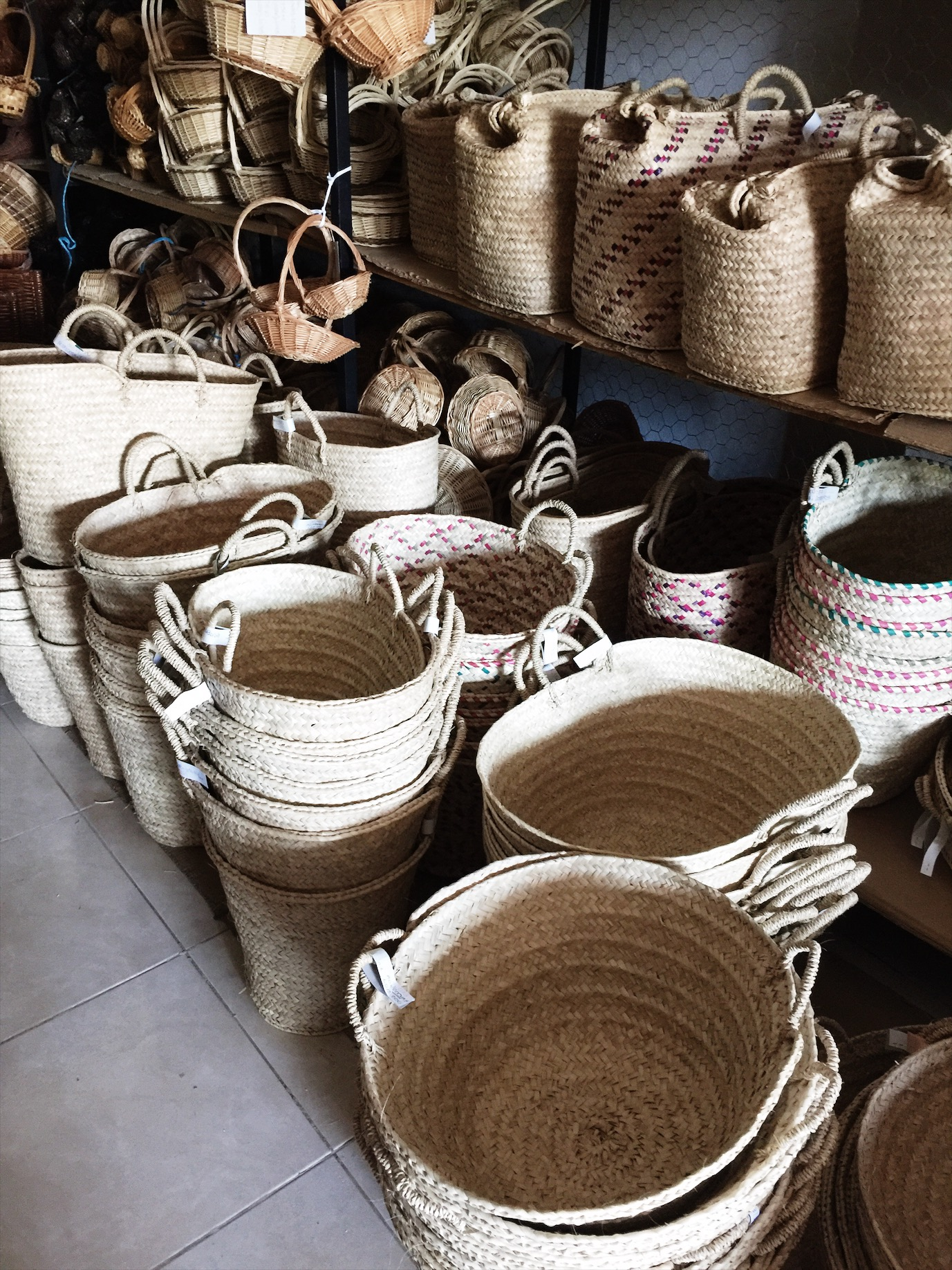 I can find thousands of baskets, but a beaux basket isn't one. We use local artisans to make this time-honored tradition that is dying out. And let me tell you, it was HARD to find grandparents who still make our Blondies.