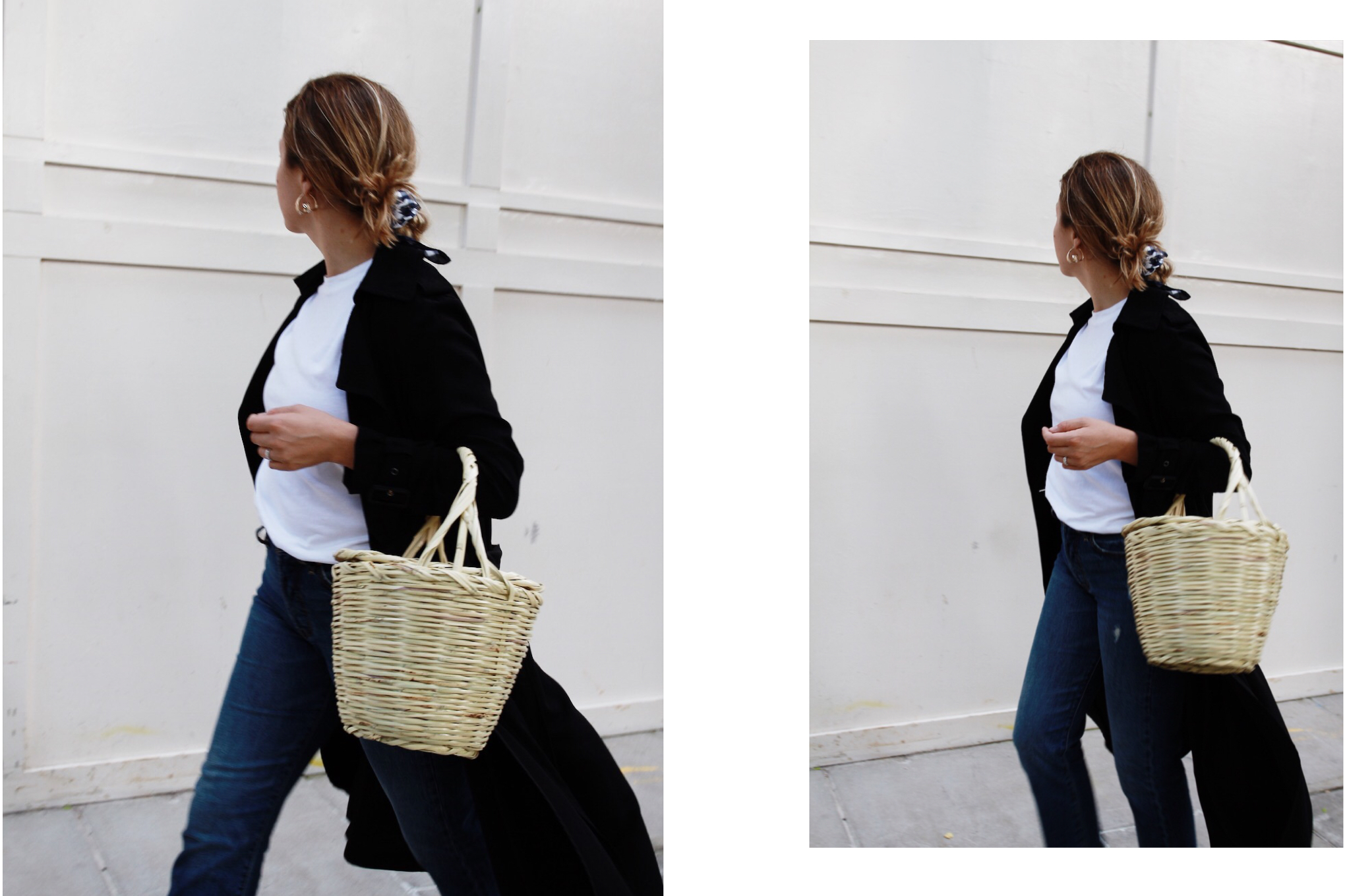 Beaux how-to: Hair Scarves & Jeans || The Beaux Journals
