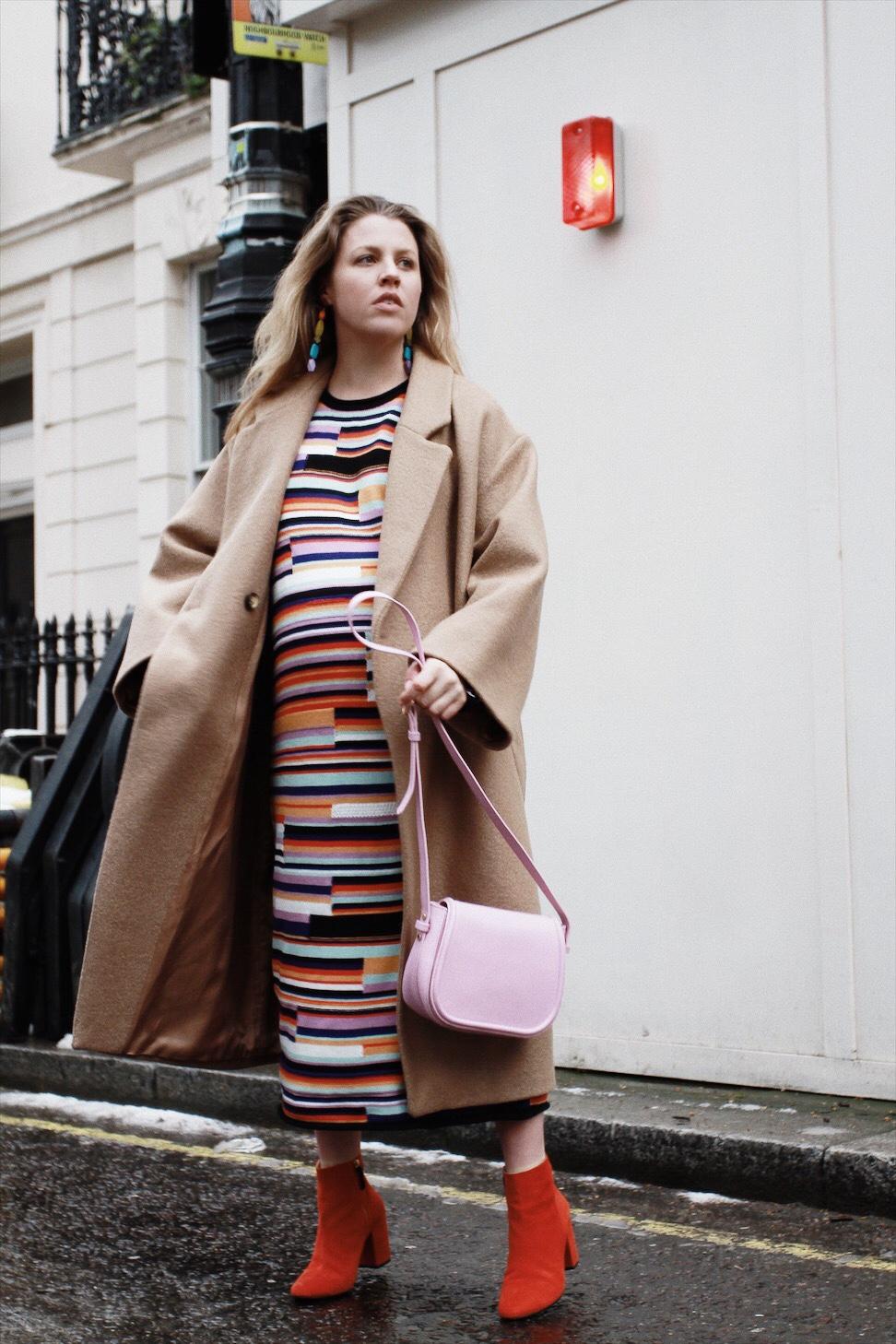 The Beaux Journals || Multi Rainbow Dress 37 Weeks