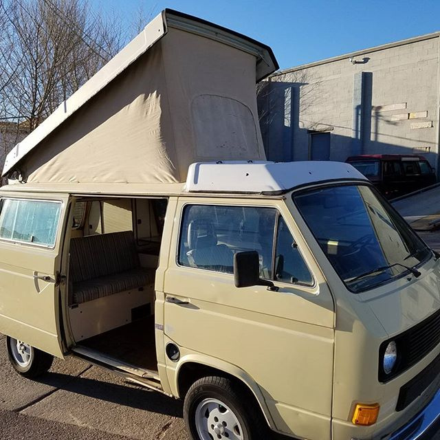 My 1983 Vanagon Westfalia is for sale! 194000 miles in the body 60,000 miles on the engine 4 speed manual transmission. Essentially zero rust brand new steering rack, tires, clutch, and shocks. This would be a great start for someone getting into camping life! Asking $12,500 #vanlife #vanagonlife #westylife