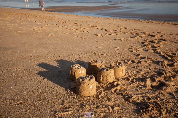 sandcastles at the end of the day portugal