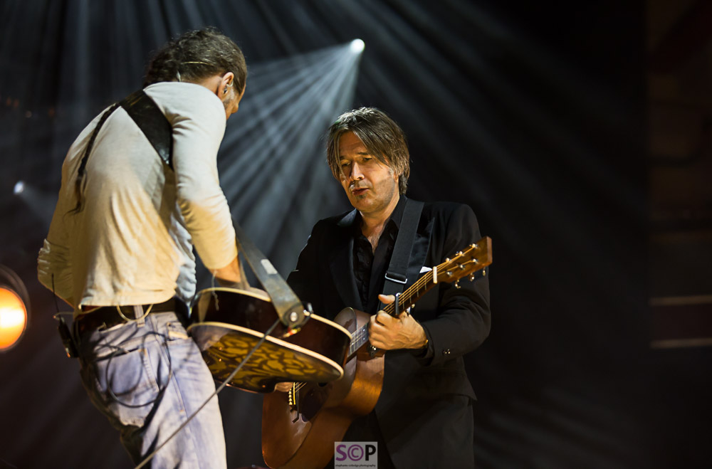 Iain and Justin of Del Amitri on stage at the symphony hall july 2018 birmingham.jpg