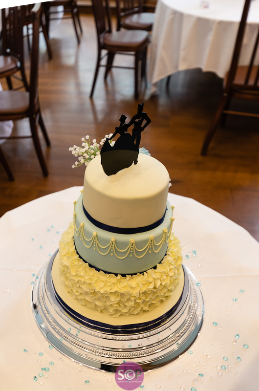 cinderella meets batman wedding cake