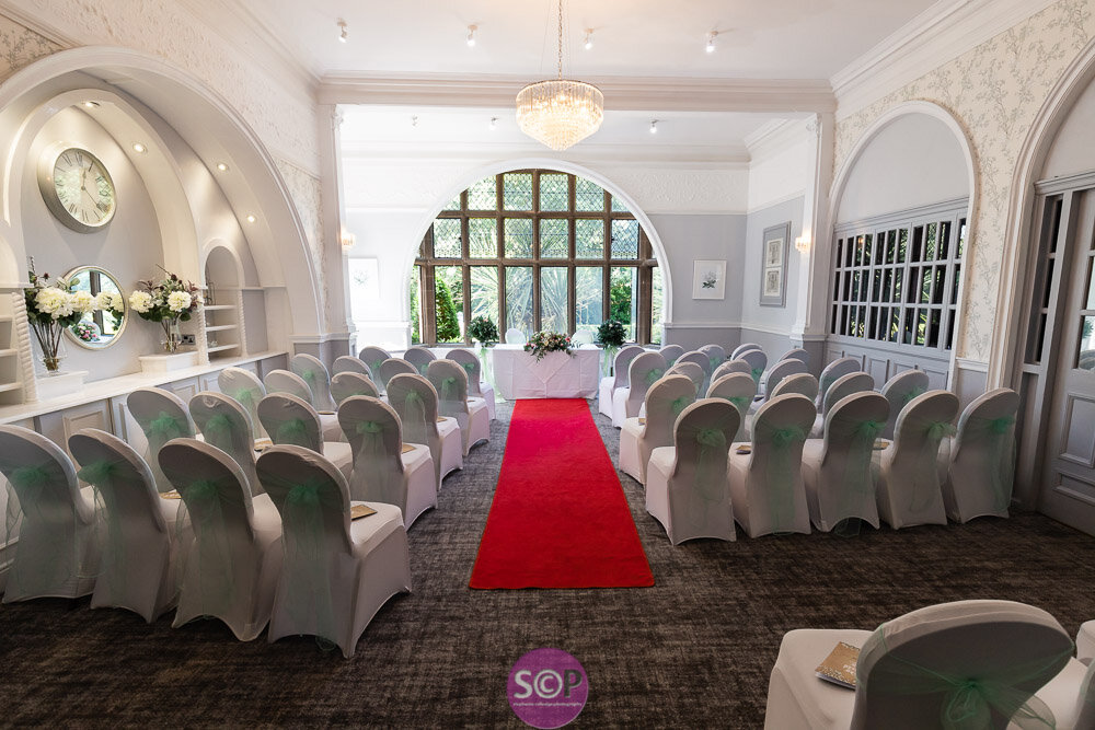 the ceremony room at the iliffe, coventry