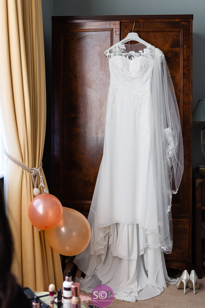 wedding dress from lisas bridalwear at the iliffe in coventry