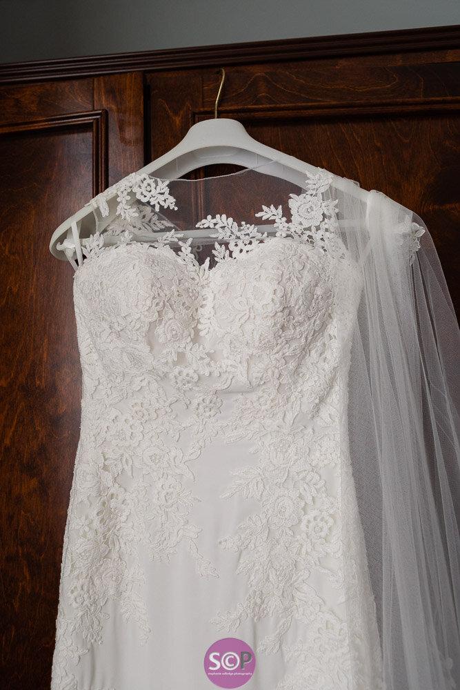 wedding dress details stephanie colledge photography