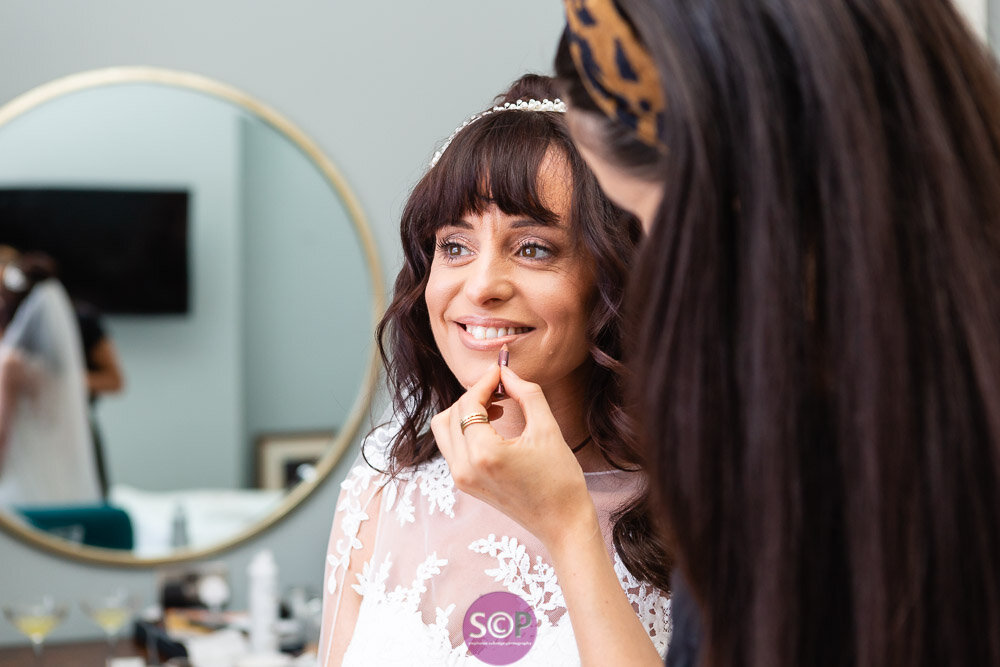 bridal preparation the final touch at the iliffe coventry