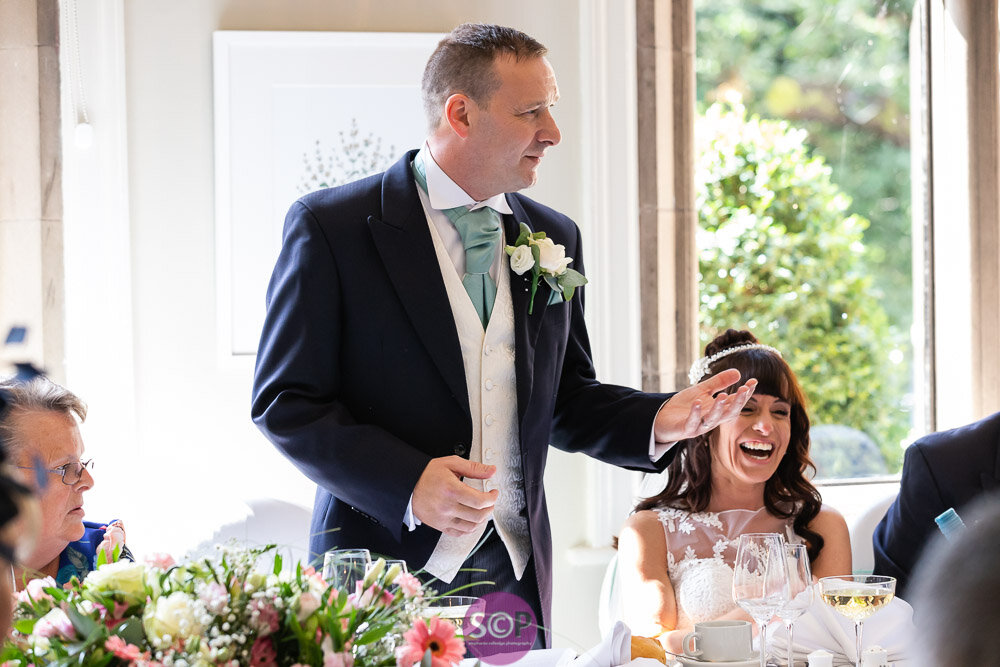the grooms speech at the iliffe coventry