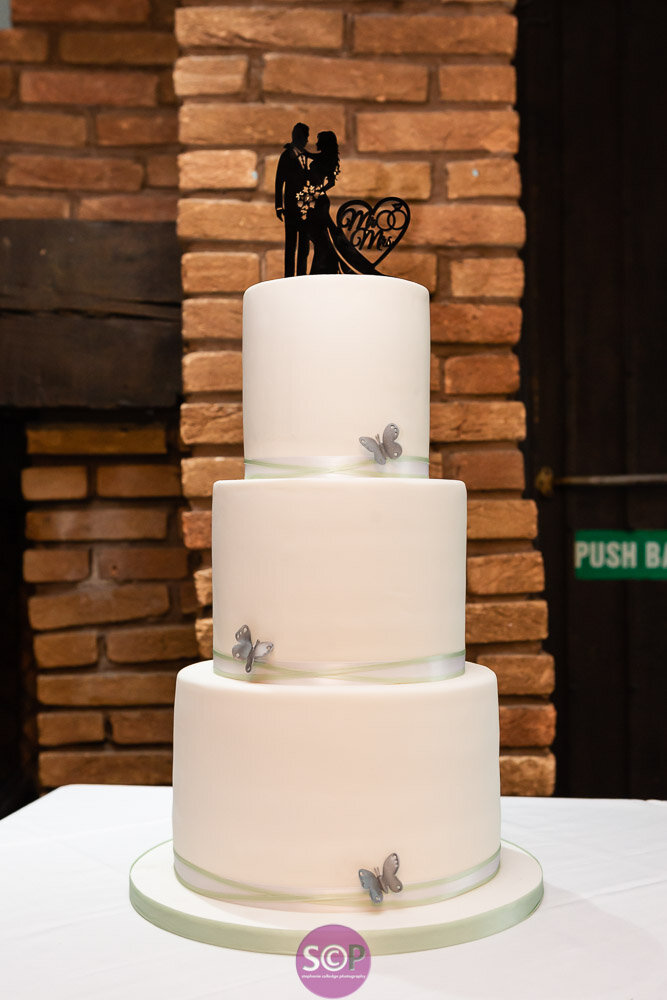 wedding cake by the little yellow patisserie