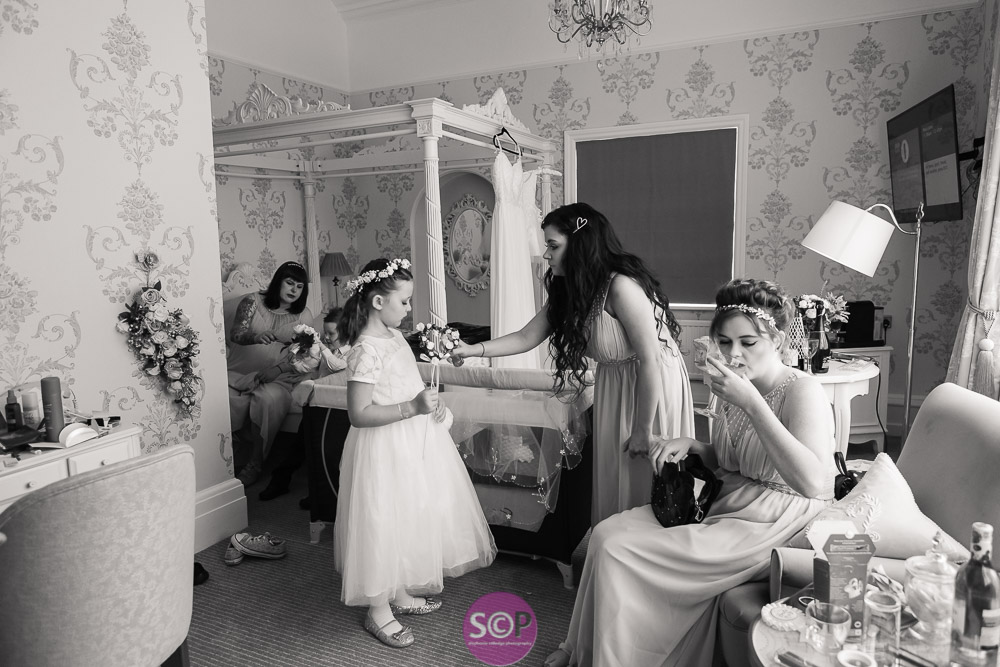 bridal preparation at the iliffe in coventry