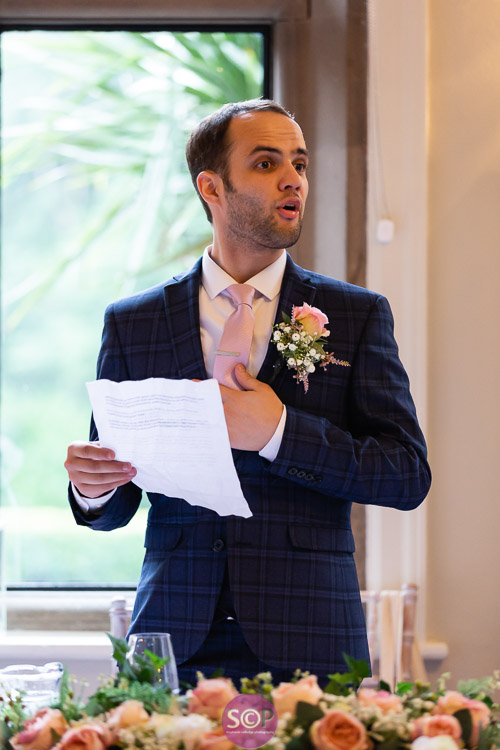 the grooms speech at the iliffe in coventry