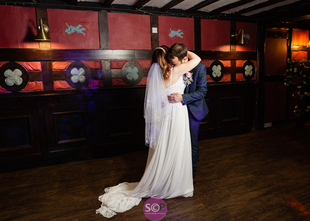 first dance during evening reception at laura ashley hotel the iliffe