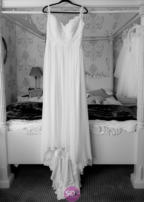 wedding dress in the bridal suite at the ilife coventry
