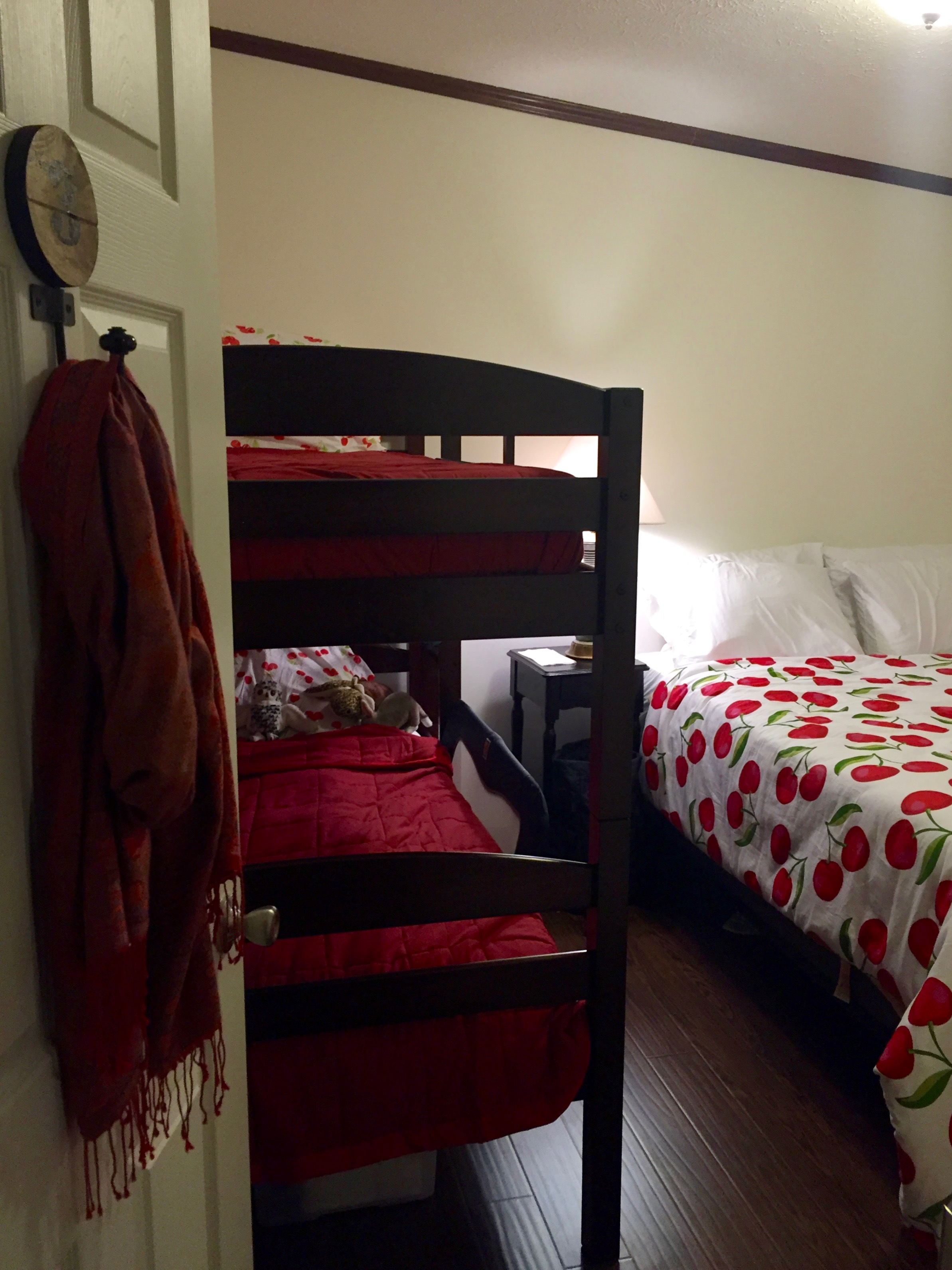 bunk and queen bedroom