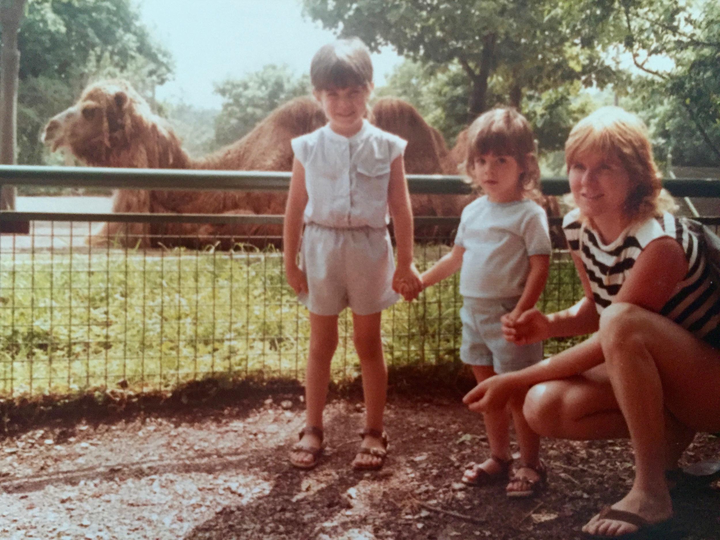 Catskill Game Farm Camel