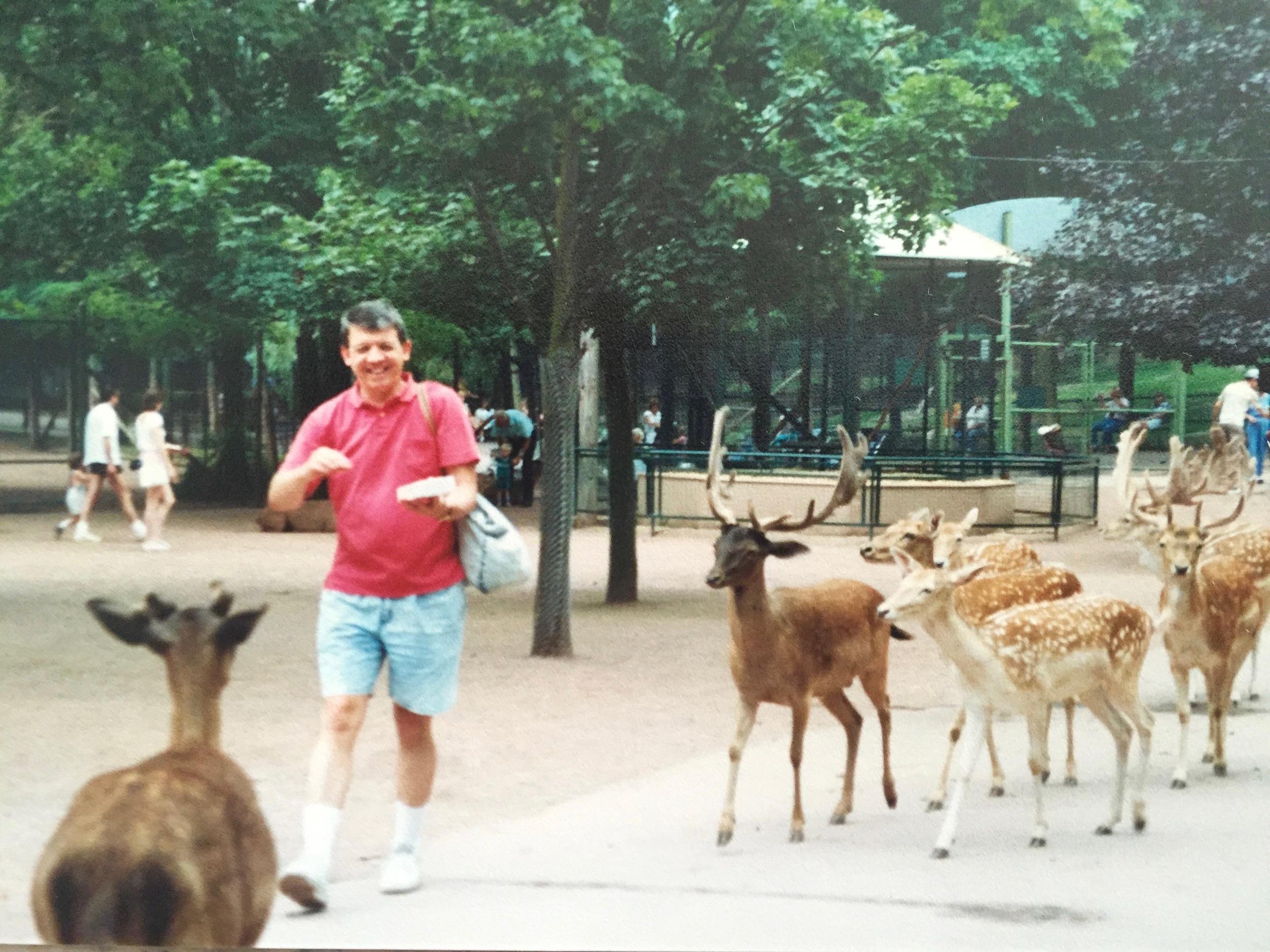 Catskill Game Farm petting zoo