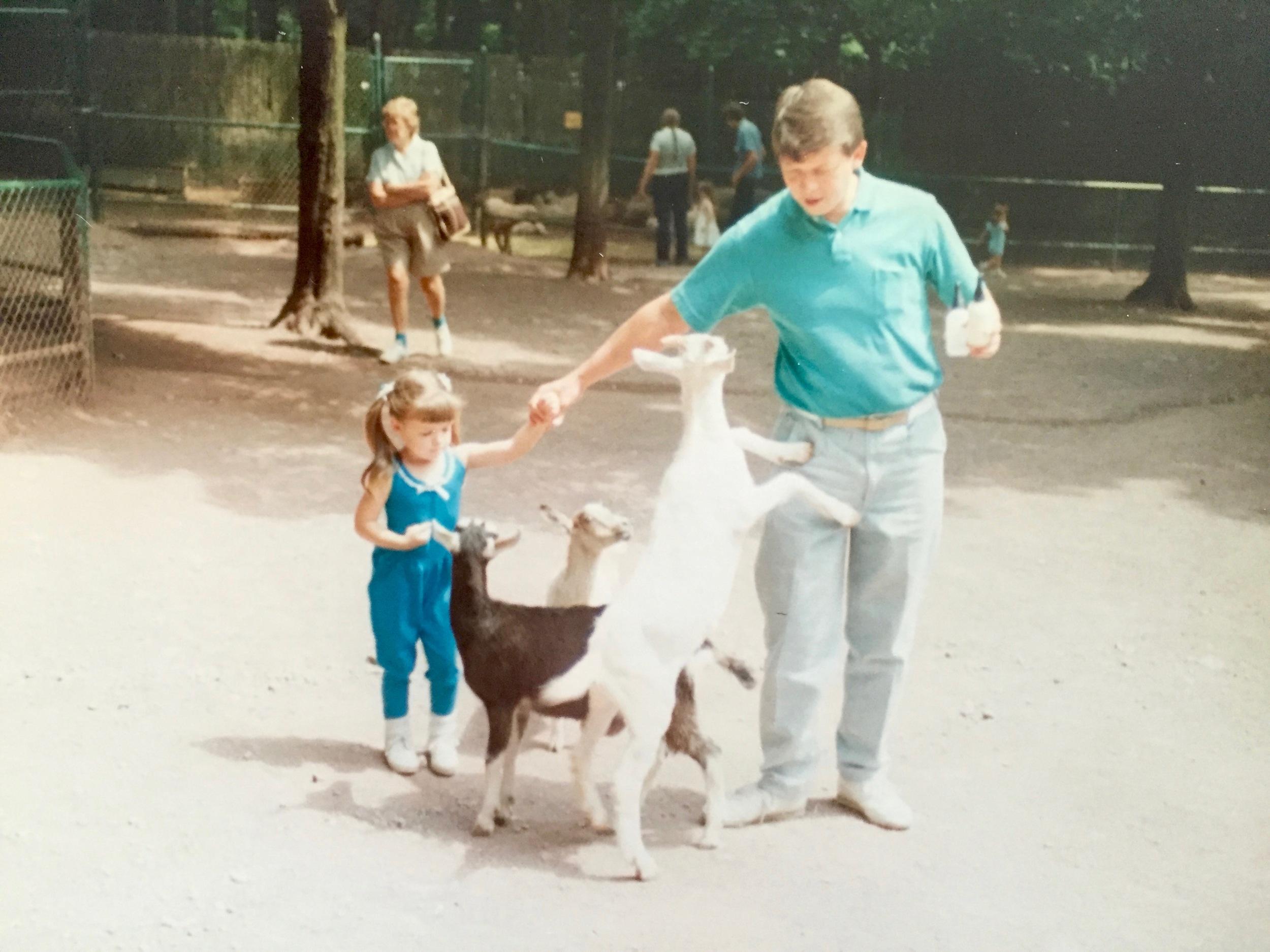 Catskill Game Farm Goats