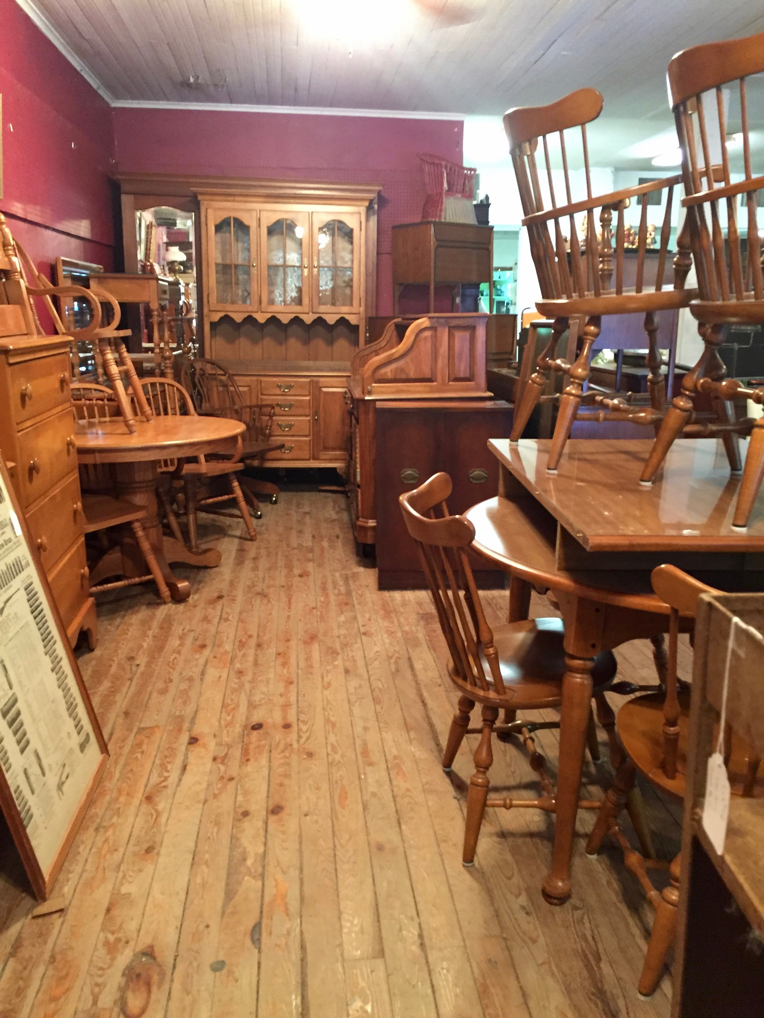 Mooney's Auction House furniture