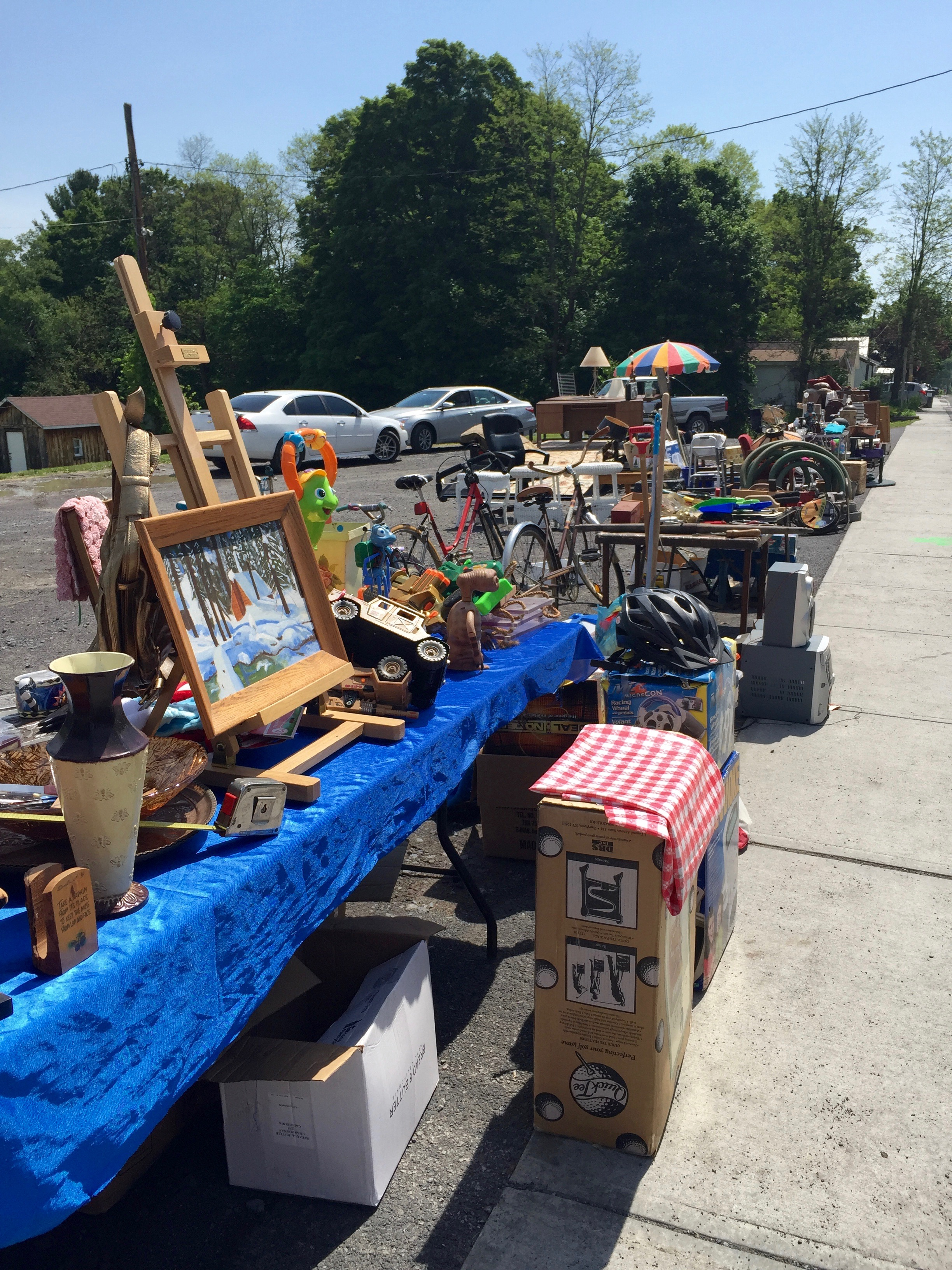 Mooney's Auction House sidewalk sale