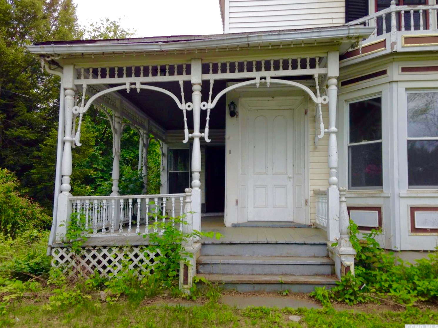 Scrollwork Porch