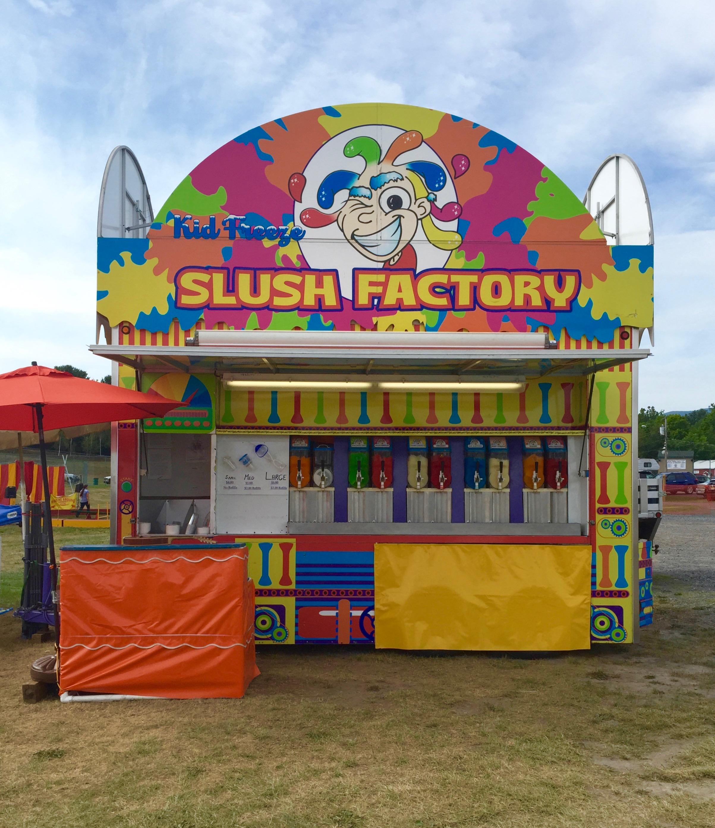 Slush Factory at Greene County Youth Fair