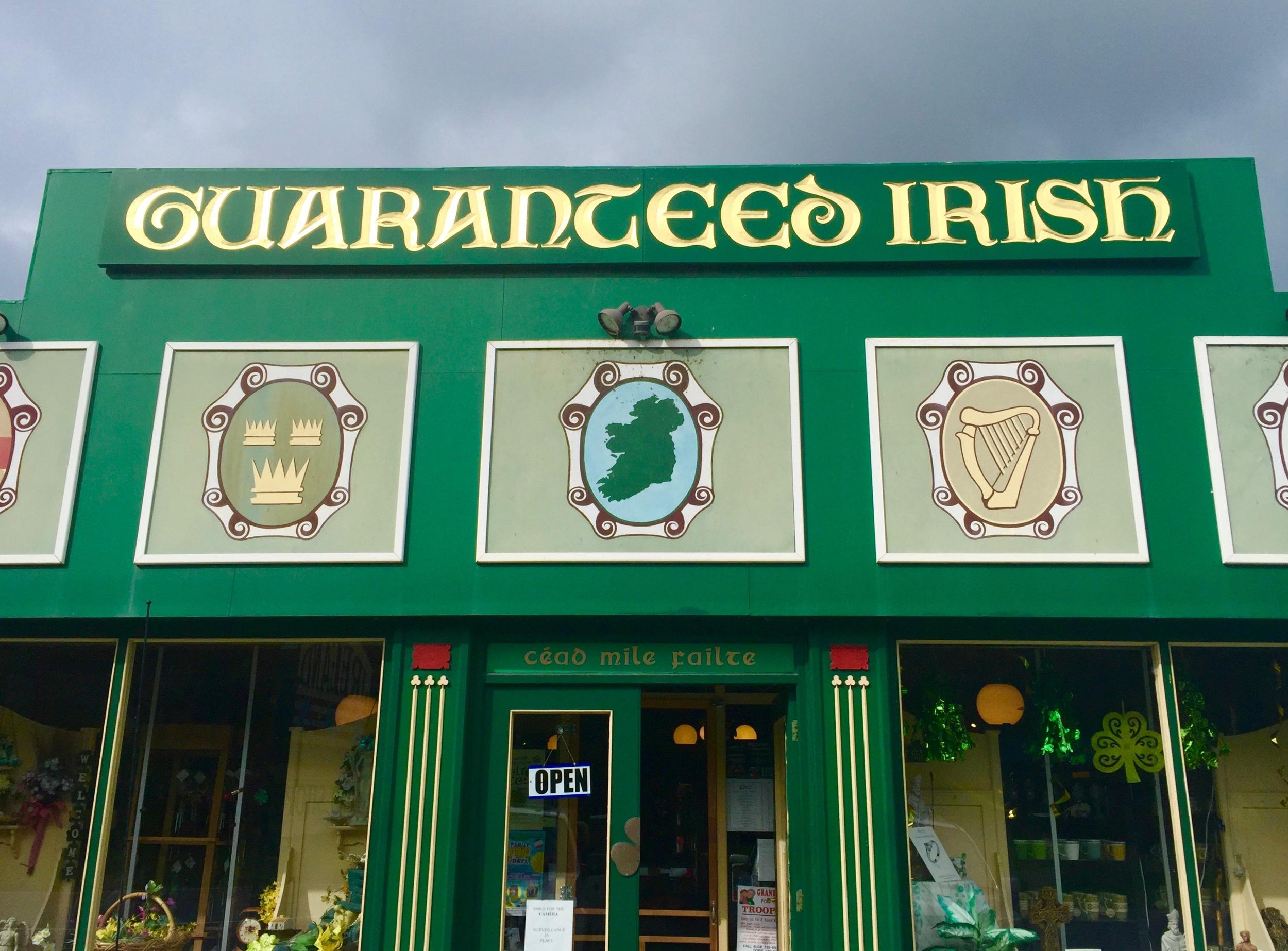 Guaranteed Irish Shop East Durham NY