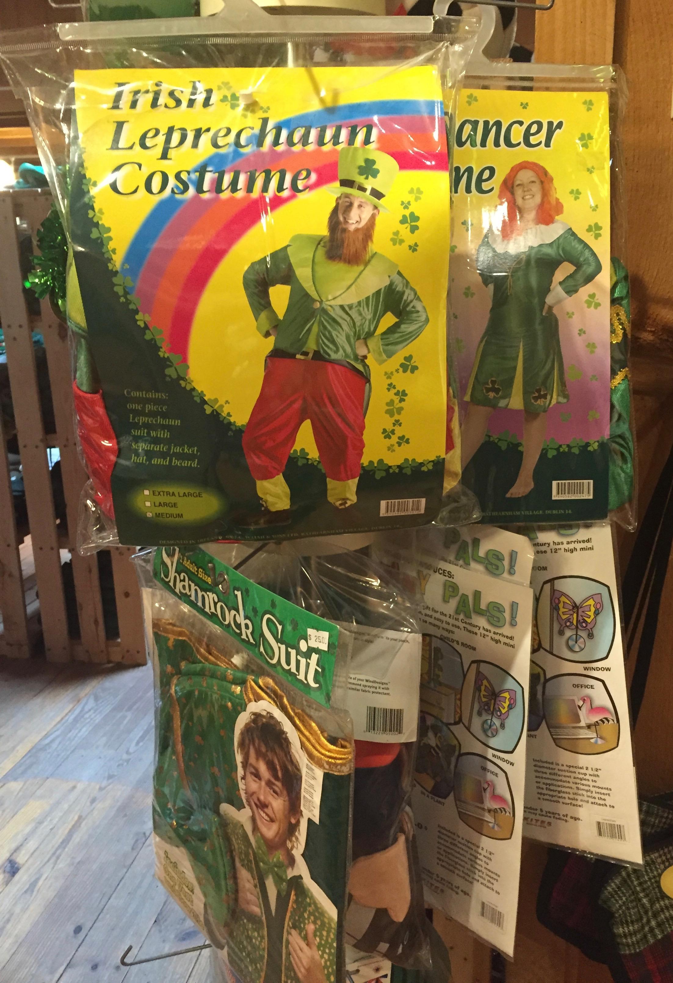 Leprechaun costumes at Guaranteed Irish