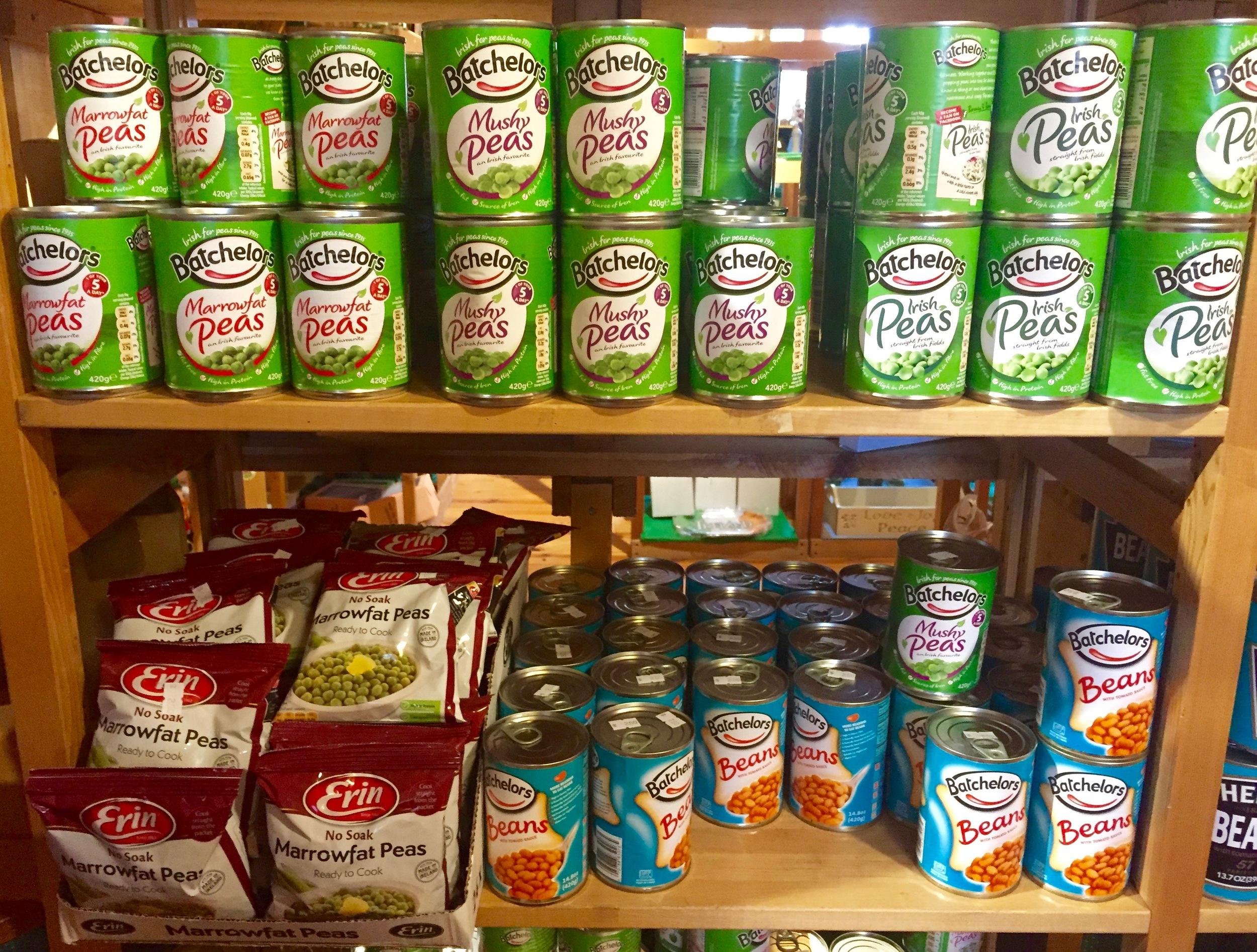Irish canned goods