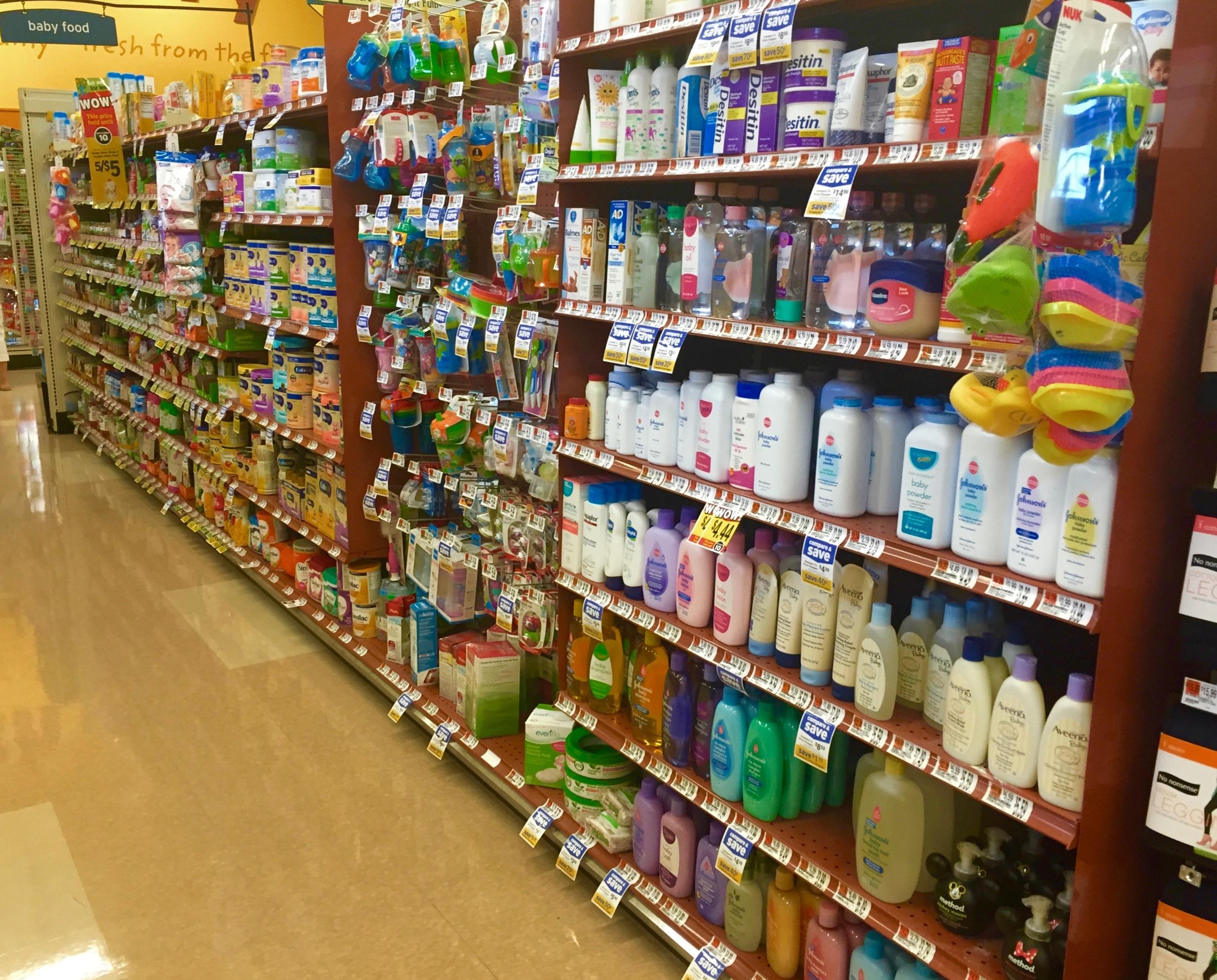Hannaford Cairo baby supplies