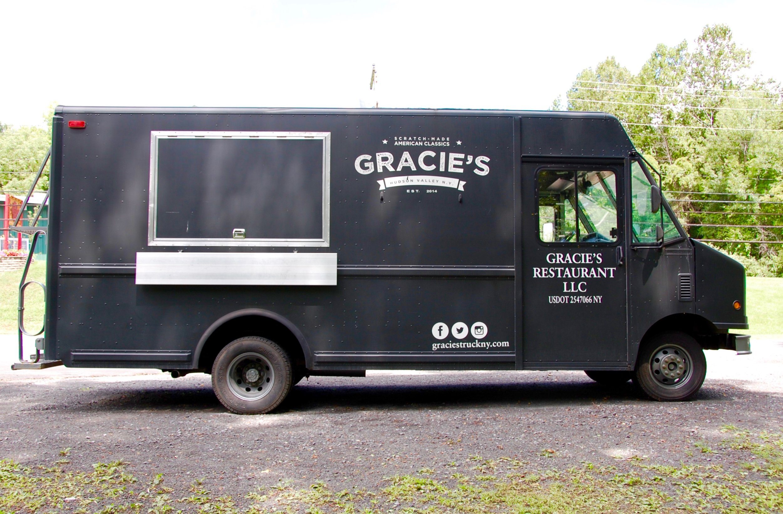 gracie's food truck