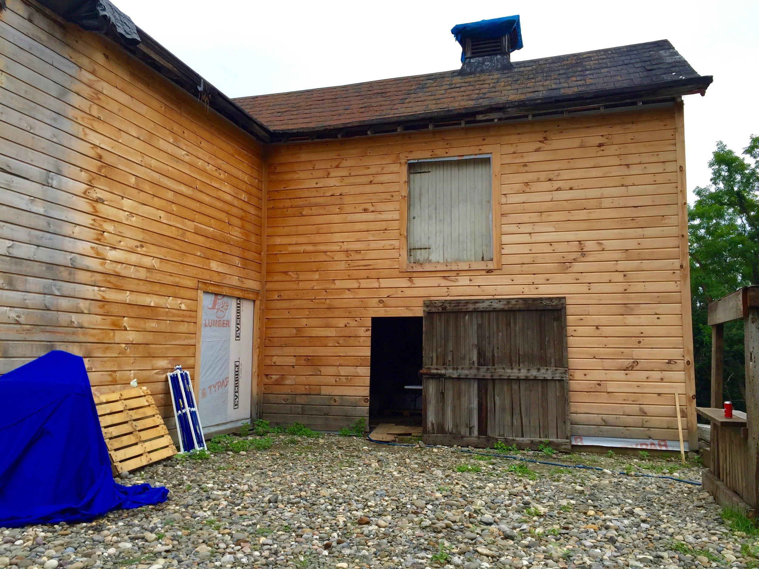 Plan Bee Farm Brewery barn