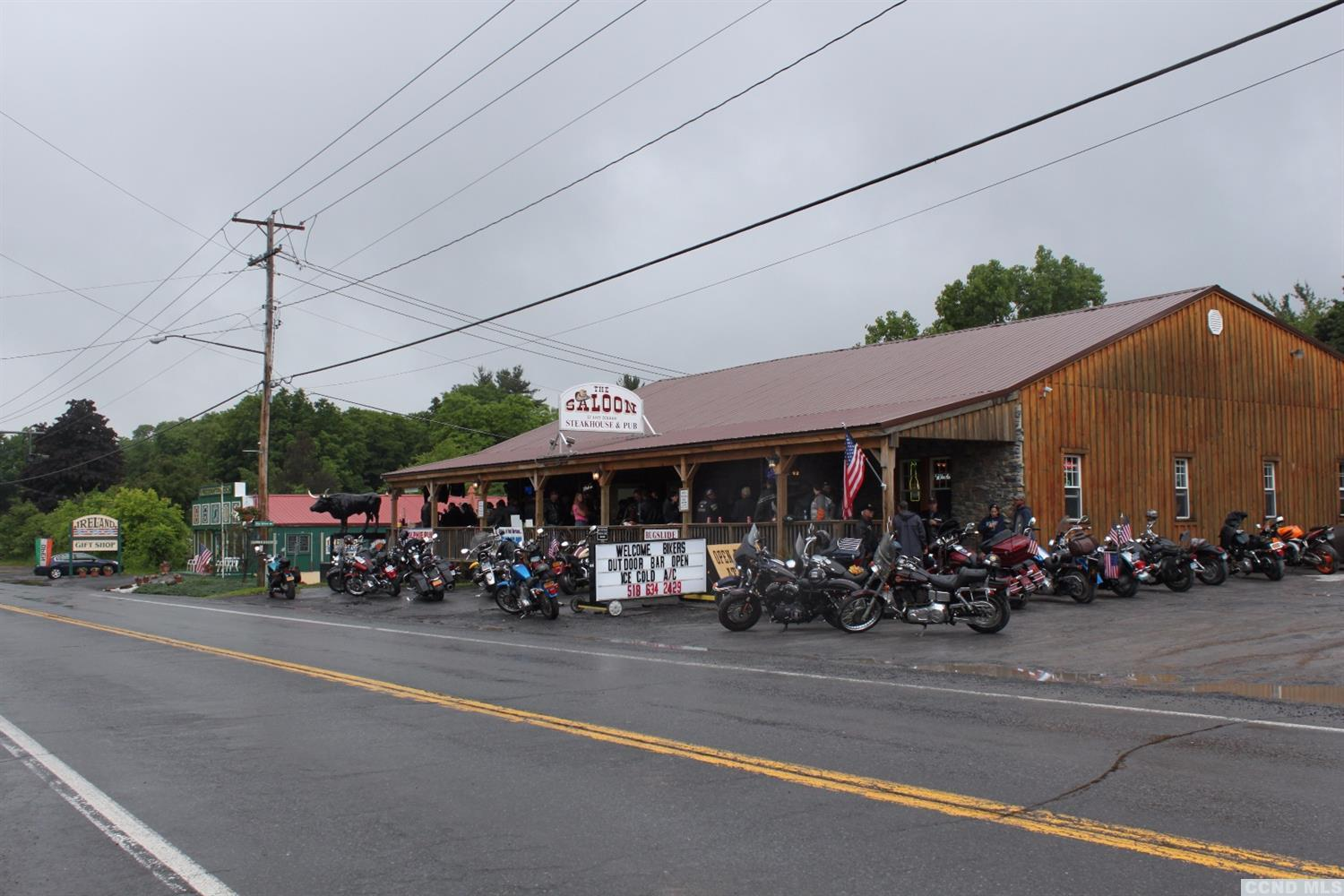 The Saloon at 2212 State Route 145, East Durham, NY. Photo by  Coldwell Banker Village Greene Realty