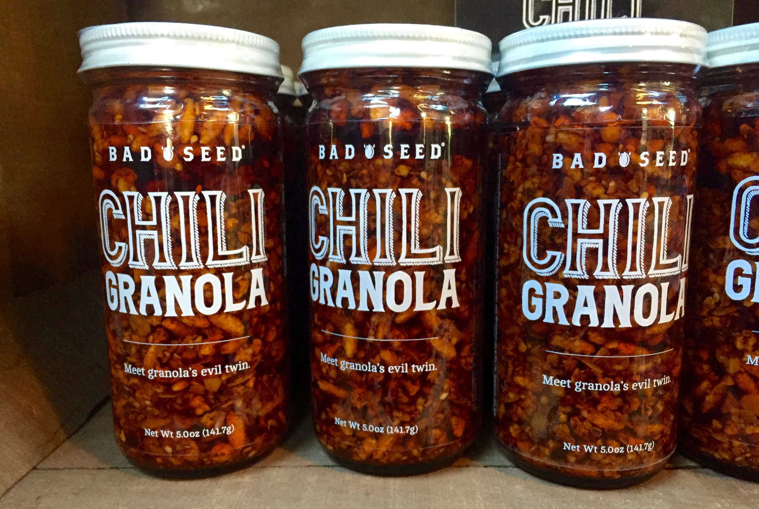 Bad Seed Chili Granola : Meet granola's evil twin. Seriously, guys, what will they think of next?