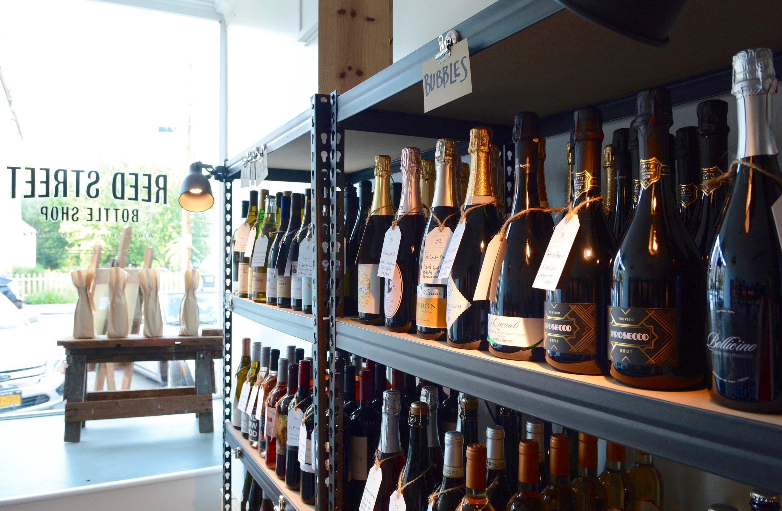 reed street bottle shop bubbles